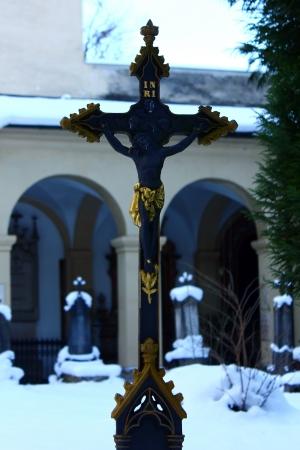 Crucifix background Stock Photo - 17155598