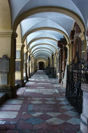 Loretokirche cloister, Salzburg, Austria Stock Photo - 17146694