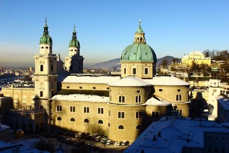 Salzburg Cathedral, Salzburg, Austria Stock Photo - 17155474
