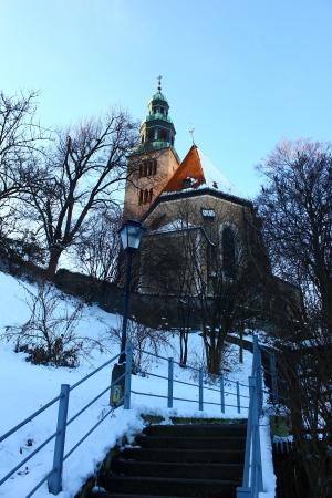 Mulln parish church, Salzburg, Austria Stock Photo - 17157233