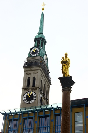Altes Peter, Munich, Germany photo