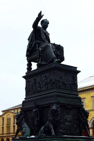 max: Max Joseph statue, Munich, Germany