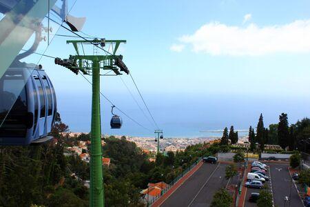 Cablecar, Madeira island, Portugal Stock Photo - 17317715