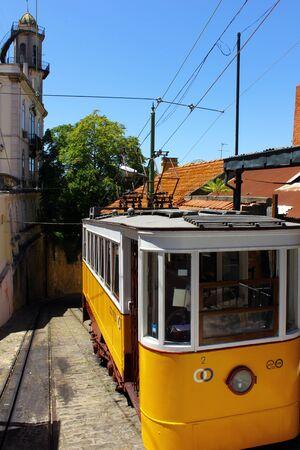 electrico: Elevador do Lavra, Lisbon, Portugal