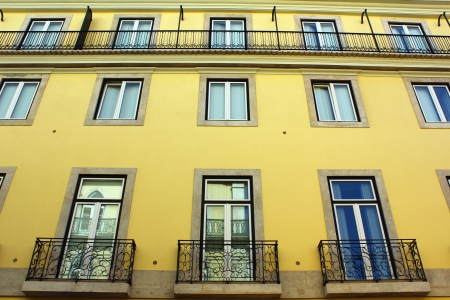 Detail of an old building at Lisbon, Portugal Stock Photo - 17522514