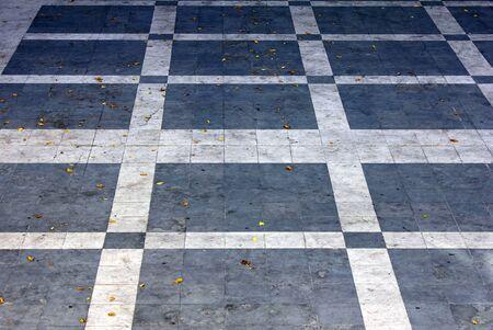 Calcada Portuguesa, Portuguese Pavement Stock Photo - 17685788