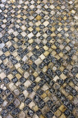 Calcada Portuguesa, Portuguese Pavement Stock Photo - 17685833