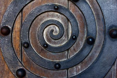 Detail of an old door Stock Photo - 17685910