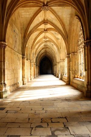 Batalha Monastery, Batalha, Portugal Stock Photo