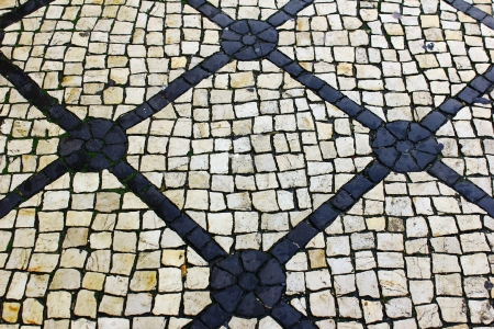 Calcada Portuguesa, Portuguese Pavement Stock Photo - 18009138