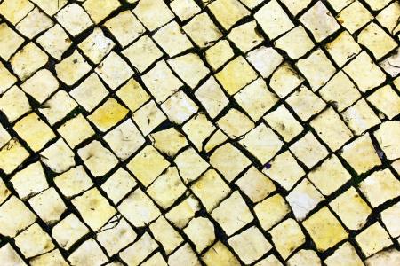 Calcada Portuguesa, Portuguese Pavement Stock Photo - 18009130