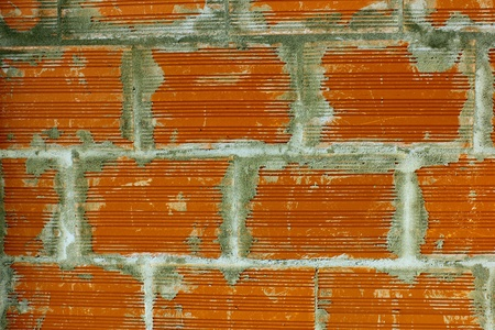 Detail of a brick wall