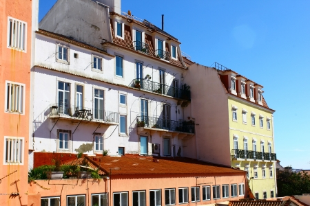 Detail of an old building at Lisbon, Portugal Stock Photo - 18148469