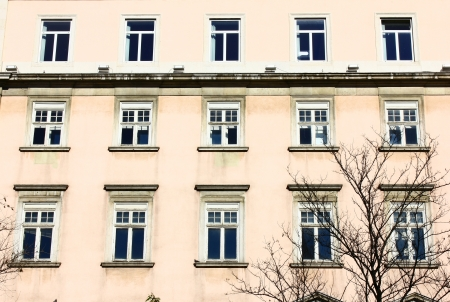 Detail of an old building at Lisbon, Portugal Stock Photo - 18148324