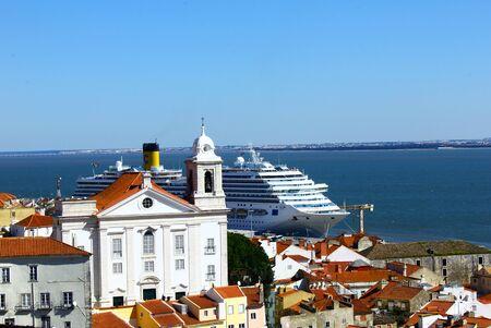 chiado: Alfama, Lisbon, Portugal