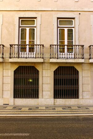 Detail of an old building at Lisbon, Portugal Stock Photo - 18456040