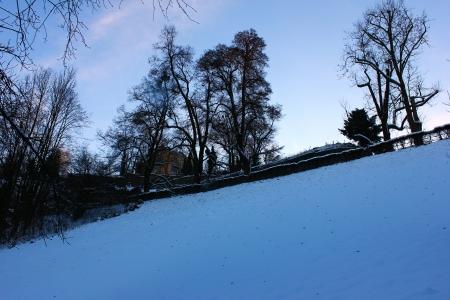 Snow hill Stock Photo - 18456047