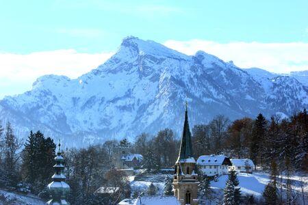 Mountains surrounding Salzburg Stock Photo - 18456041