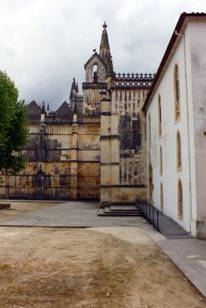 Mosteiro da Batalha, Batalha, Portugal Banco de Imagens