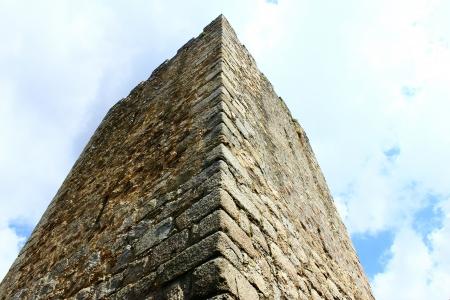 Castelo de Almourol em Portugal Editorial
