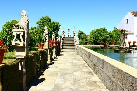 Jardim, Castelo Branco, Portugal Banco de Imagens
