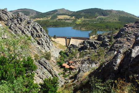 garcia: Dam, Penha Garcia, Portugal