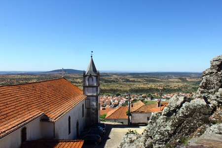 Medieval village of Penha Garcia, Portugal photo