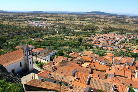 Medieval village of Penha Garcia, Portugal
