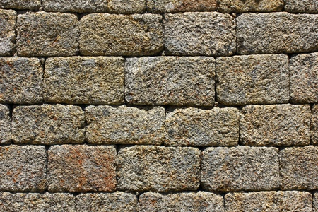 Detail of a stone wall Stock Photo - 21124703