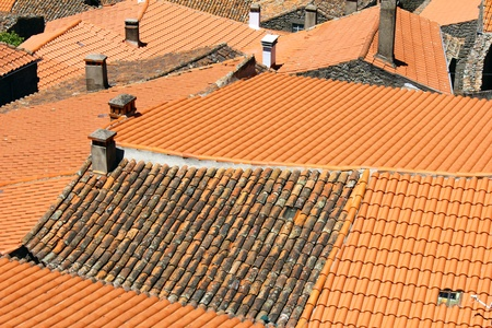 Detail of some rooftops photo