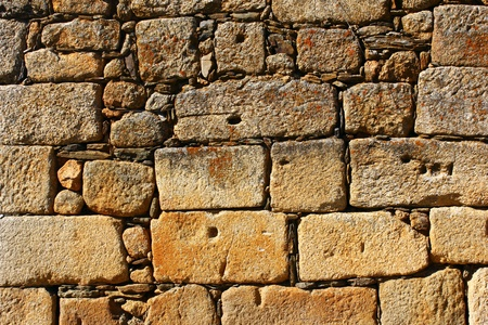 Detail of a stone wall Stock Photo - 21298930