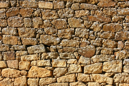 Detail of a stone wall Stock Photo - 21298931