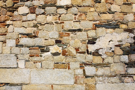 Detail of a stone wall Stock Photo - 21298932