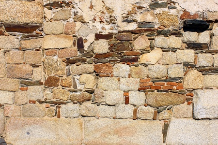 Detail of a stone wall Stock Photo - 21298933