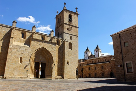 Cathedral of Caceres, Caceres, Spain