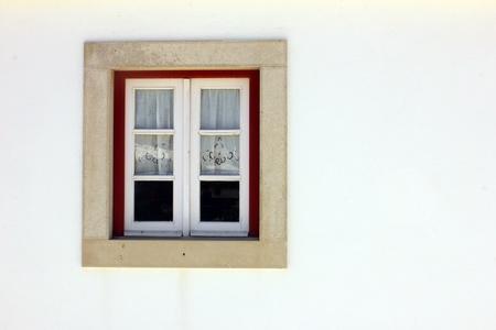 Detalhe de uma janela velha