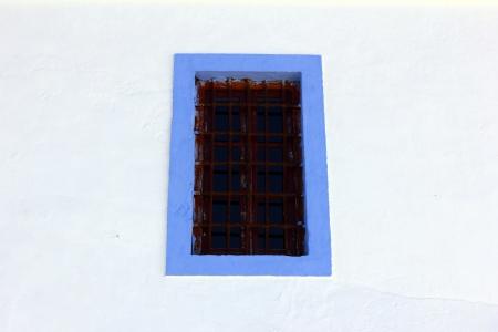Detalhe de uma janela, Alentejo, Portugal