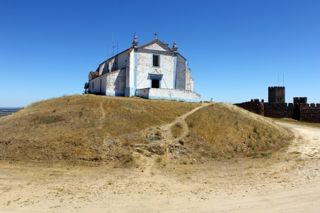 crenelation: Castle, Arraiolos, Portugal