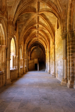 cloister: Cloister, Cathedral of Evora, Portugal Stock Photo