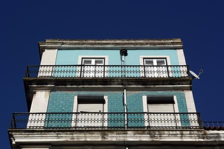 baixa: Baixa, Lisbon, Portugal Stock Photo