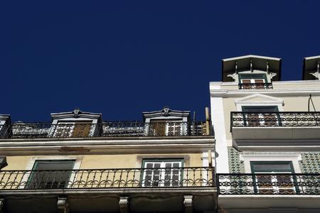 chiado: Baixa, Lisbon, Portugal Stock Photo