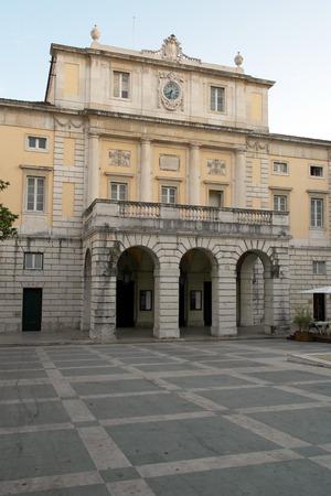 carlos: Teatro Sao Carlos, Lisbon, Portugal Stock Photo