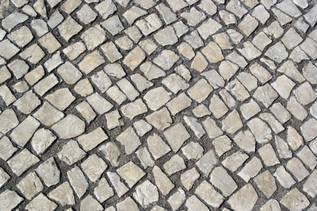 Portuguese pavement, cal�ada portuguesa photo