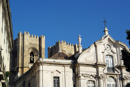 historica: Church of Saint Anthony, Lisbon, Portugal