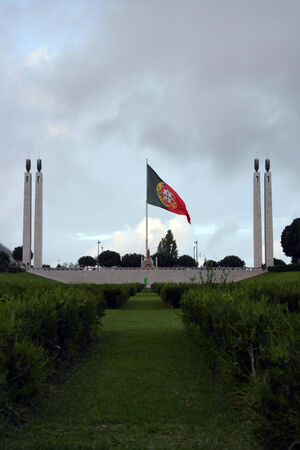 Edward VII Park, Lisbon, Portugal