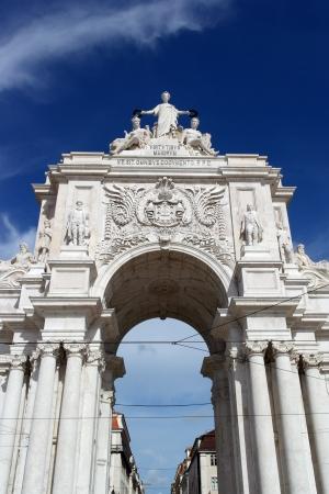 augusta: Augusta calle arco, Lisboa, Portugal