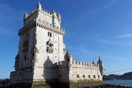 belem: Tower of Belem, Lisbon, Portugal Editorial