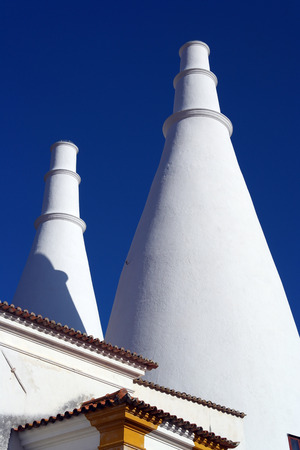 sintra: Sintra National Palace, Sintra, Portugal Stock Photo