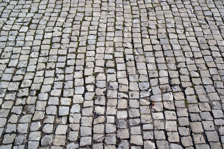 Portuguese pavement, Calcada portuguesa photo