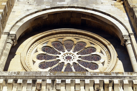Catedral, Lisboa, Portugal Banco de Imagens
